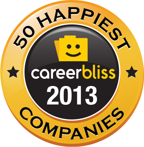 CareerBliss Happiest Companies in America for 2013