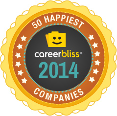 CareerBliss 50 Happiest Companies for 2014