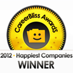 CareerBliss 50 happiest companies in 2012