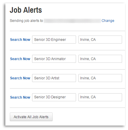 CareerBliss Job Alerts