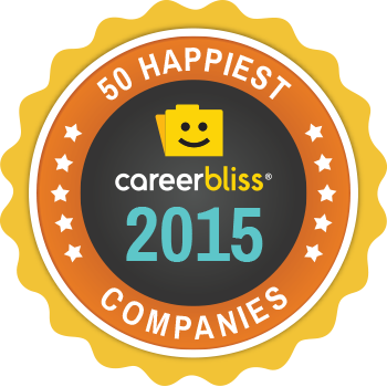 50 happiest Companies Medium Badge