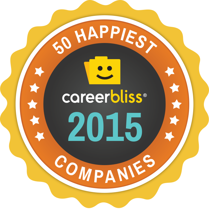 50 happiest Companies Large Badge