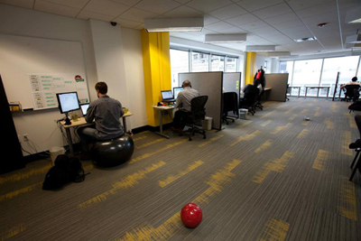 Sparefoot's office space