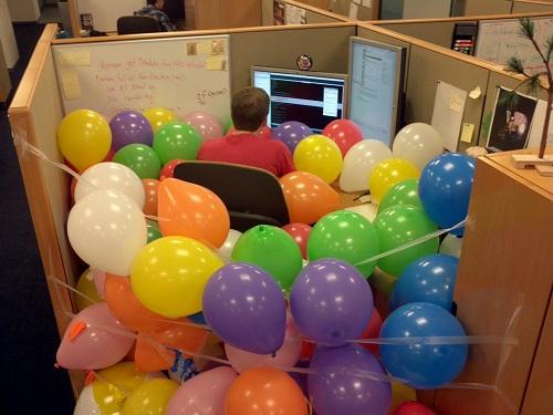 FactSet Employee enjoying his day!
