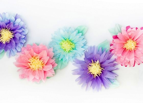 Nothing Says Summer Like Beautiful Colorful Flowers On Your Desk Create Everlasting Using Tissue Paper Featured The Design Everyday Blog