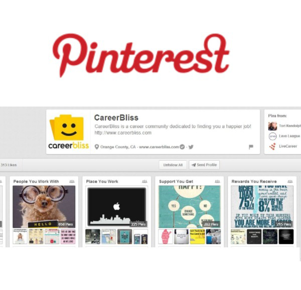 5 pinterest boards to follow for the best career inspiration